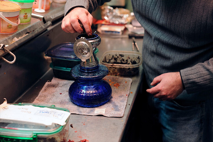 How to set up hookah