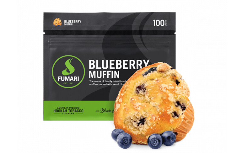 blueberry Muffin by Fumari