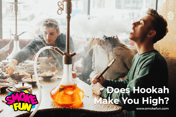 Does hookah make you high?